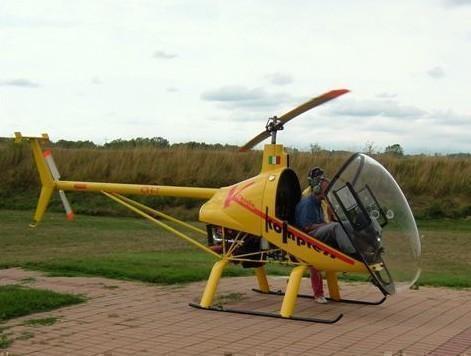 Entstehungsgeschichte Helikopter CH-7, HB-YNB - Karl (Charly